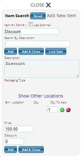 discount part